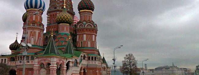 Street View, quattro passi in Russia