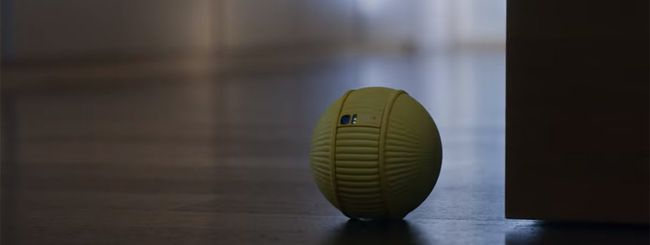 CES 2020, Samsung presenta il robot sferico Ballie