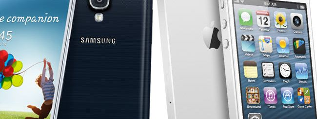 Samsung Galaxy S4 e iPhone 5: crash test