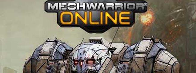 MechWarrior Online annunciato per PC