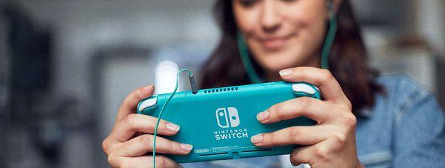 Nintendo Switch Lite torna in offerta su Amazon