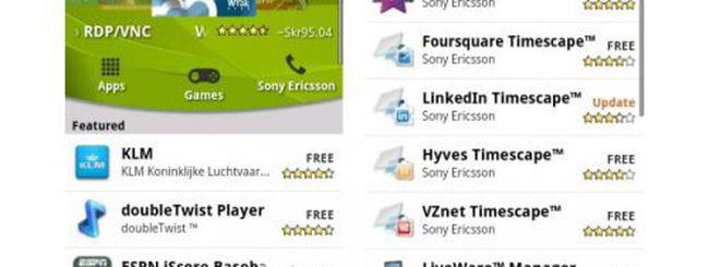 Sony Ericsson crea il suo canale sull'Android Market