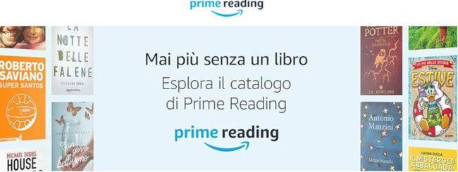 Amazon Prime Reading, ebook gratis per abbonati