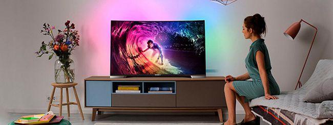 Philips TV 4K curvo