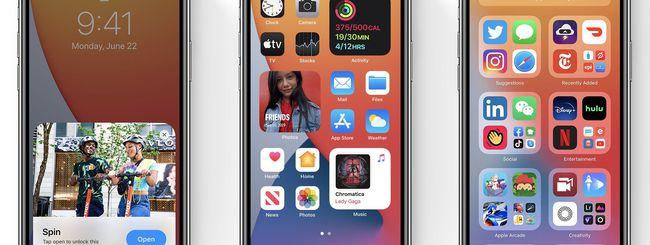 Apple ha svelato iOS 14: ecco le novità