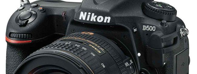 La reflex Nikon D500 e l'action cam KeyMission 360