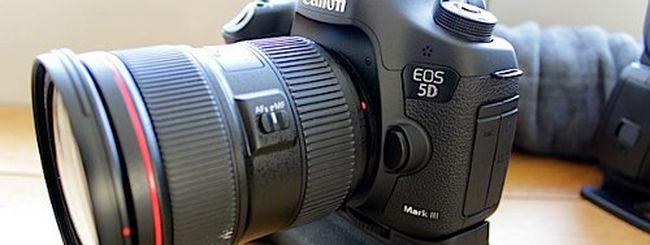 Canon EOS 5D Mark III ufficiale: dettagli, foto e video