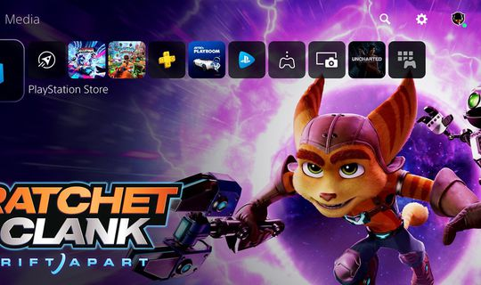 interfaccia PS5
