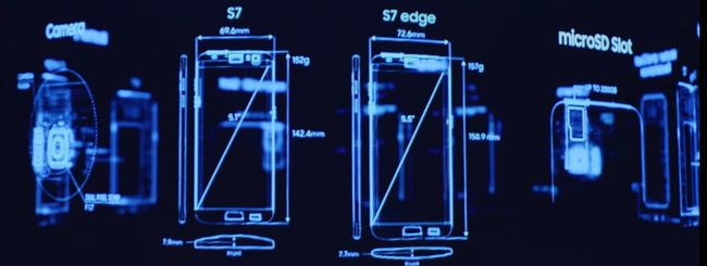 Samsung Galaxy S7 e S7 edge, teardown ufficiale