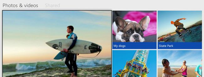 Xbox One, condivisione foto e video su SkyDrive