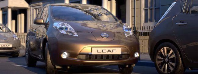 Nissan porta la guida autonoma in Europa