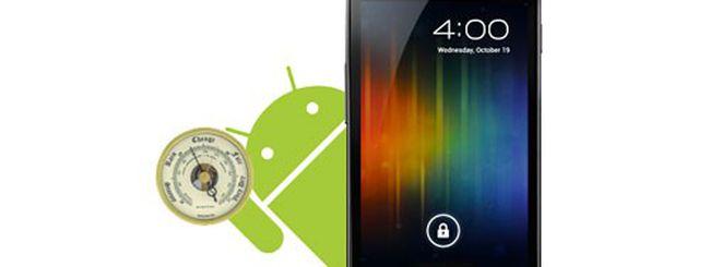 Samsung Galaxy Nexus: a cosa serve il barometro?
