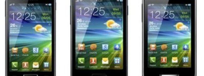 Samsung Wave 3, M e Y annunciati