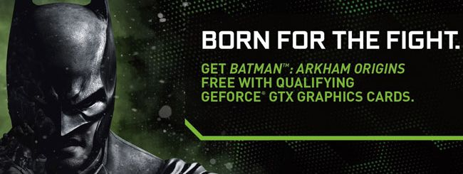 Batman: Arkham Origins in regalo con le GPU NVIDIA