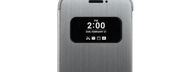 LG G5, ecco la Quick Cover con funzioni touch