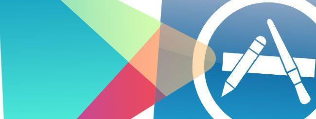 Google Play, primo sorpasso su App Store