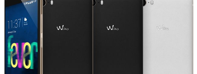 Wiko Fever, smartphone Android fosforescente