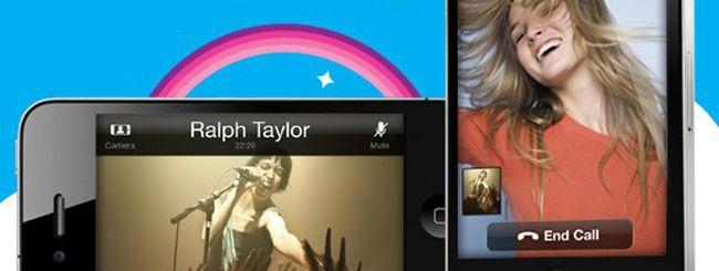Skype per iPhone, videochiamate con H.264
