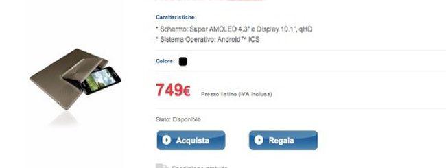 ASUS Padfone entra nel listino di TIM a 749 euro