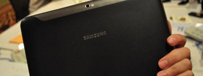 Samsung Galaxy Tab, non c'è due senza tre