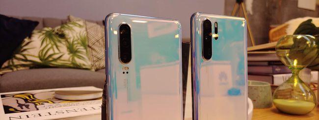 Huawei P30 e P30 Pro, fotocamere rivoluzionarie