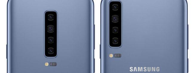 Galaxy S10, modello da 6,7 pollici con 6 fotocamere