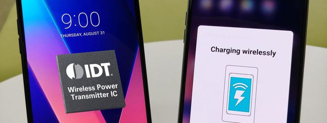 LG V30, ricarica wireless super veloce
