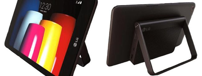 LG G Pad X2 8.0 Plus, tablet con dock opzionale