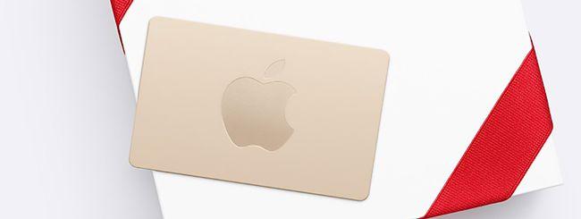 Black Friday: Apple regala una Gift Card