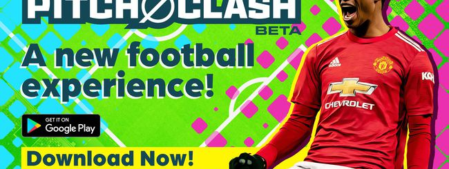 Konami presenta Pitch Clash, gioco di calcio per dispositivi mobile