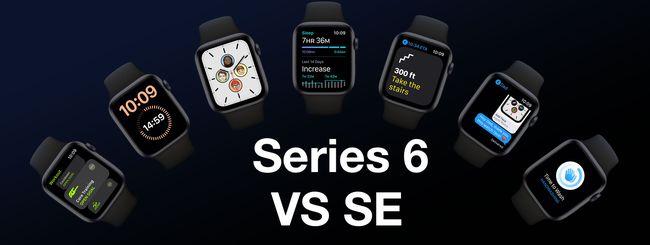 Apple Watch Series 6 VS. SE: Somiglianze & Differenze