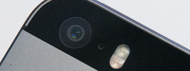 iPhone 5S, fotocamera
