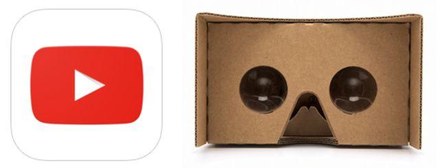 YouTube per iOS, supporto alla realtà virtuale con Google Cardboard