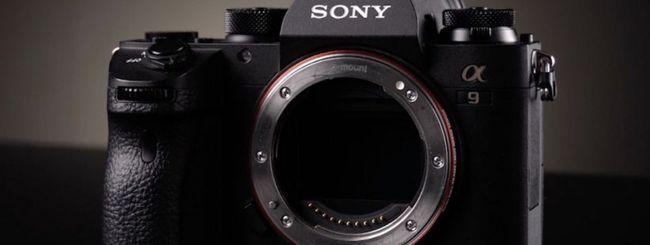 Sony aggiorna il firmware delle Alpha A9