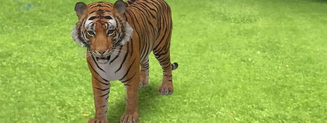 Google Search mostra gli animali in 3D