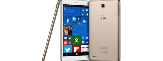 CES 2016: da Alcatel un tablet Windows 10 Mobile