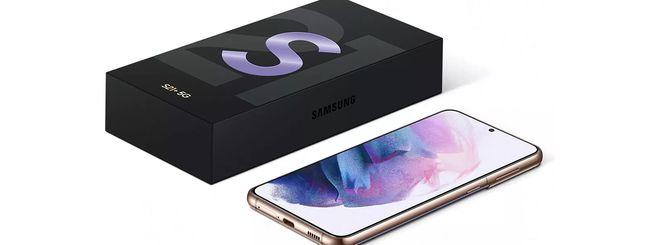 Samsung Galaxy S21, S21+ e S21 Ultra: prezzi e specifiche