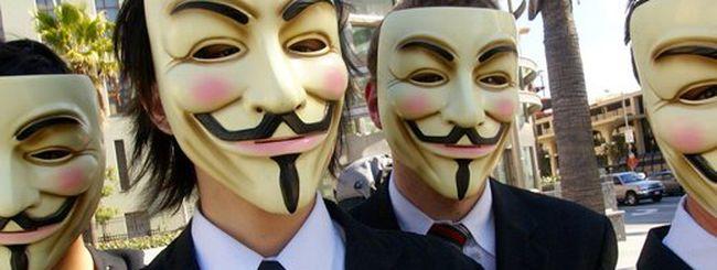 Anonymous: attacco in grande stile il 5 novembre