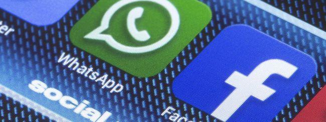WhatsApp userà i server di Facebook