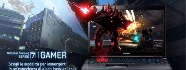 Samsung presenta il notebook Serie 7 700G Gamer