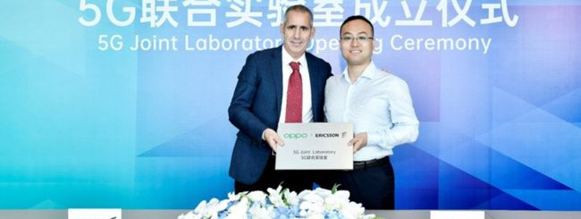 OPPO ed Ericsson lanciano il 5G Joint Lab