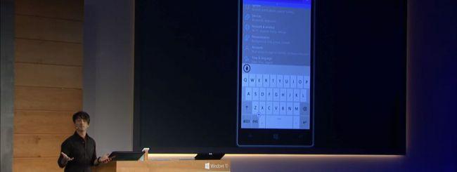 Windows 10 per smartphone e tablet