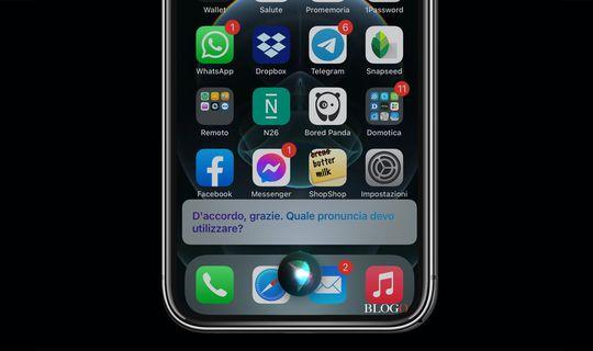 iOS 14, insegnare a Siri la pronuncia corretta di un nome