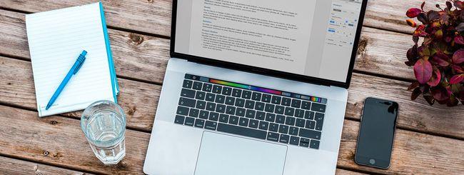MacBook Pro 16: stesso case dell'edizione da 15