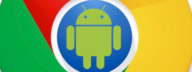 Chrome per Android si aggiorna, download su Google Play