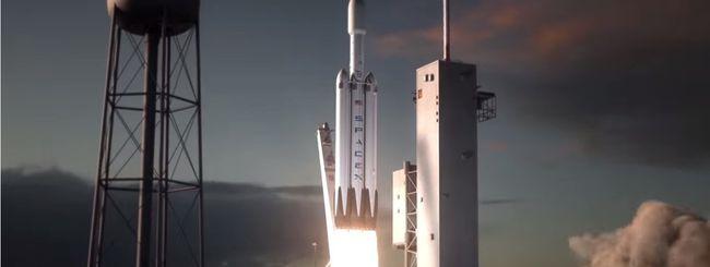 SpaceX, il lancio del Falcon Heavy è più vicino