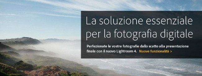 Adobe Lightroom 4 disponibile: supporta Nikon D800 e D4