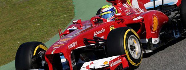 Sky, i test della Formula 1 in 3D su Smart TV