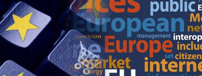 Agenda Digitale: l'Europa deve fare di più