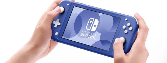 Nintendo Switch Lite diventa blu